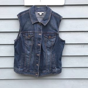 Style&co Denim women's jeans jacket sz XL